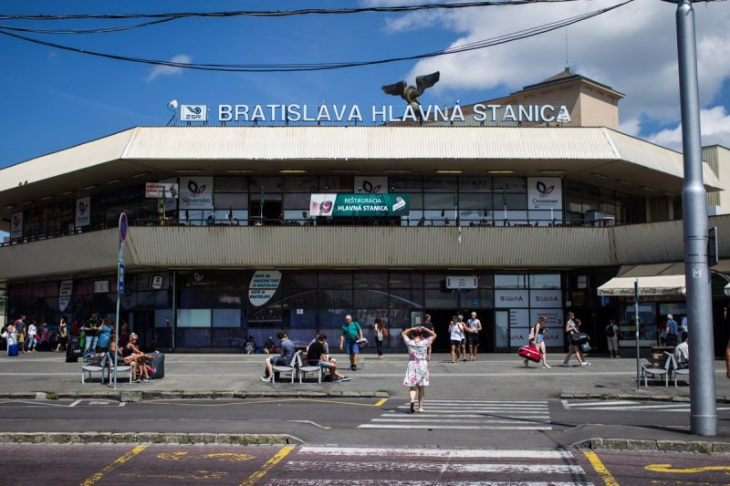 train station to hotel in Bratislava, private transfer
