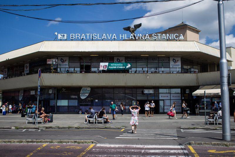 train station to hotel in Bratislava, private transfer