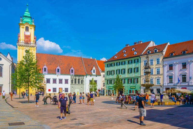 Bratislava and Vienna, Main Square