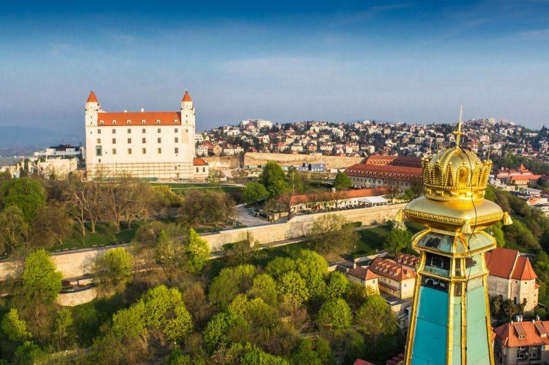 Bratislava day trip from Vienna, Bratislava castle