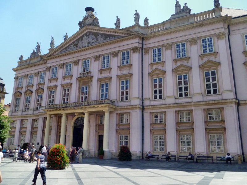 Bratislava from Vienna with coffe & cake, local bratislava guide Primate`s palace