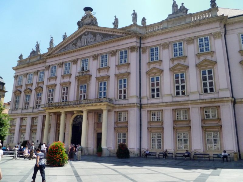 Primate`s Palace during Bratislava Classical Walking Tour