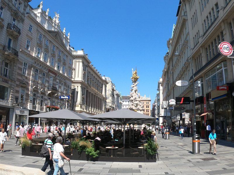 Vienna guide, street