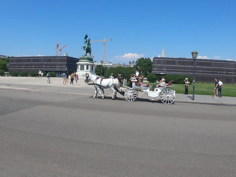 Bratislava to Vienna, horse carriage