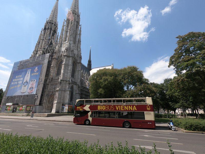 Bratislava to Vienna, big bus bus
