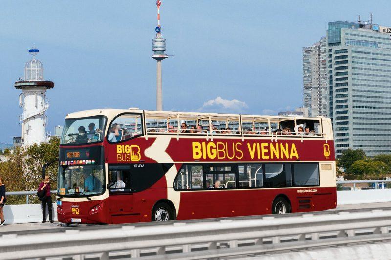 Bratislava to Vienna, BigBus bus