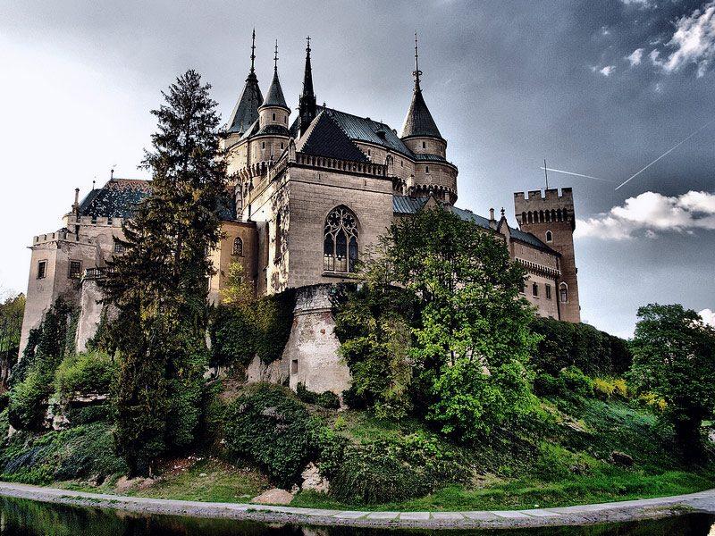 Day trip to Bojnice & Trencin. Bojnice castle exterior