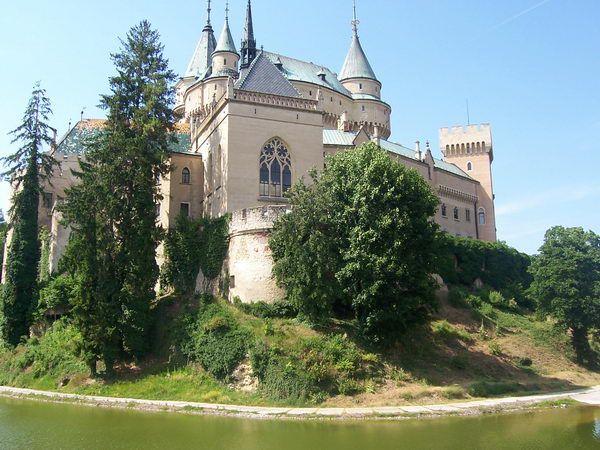Day trip to Bojnice & Trencin, Bojnice castle