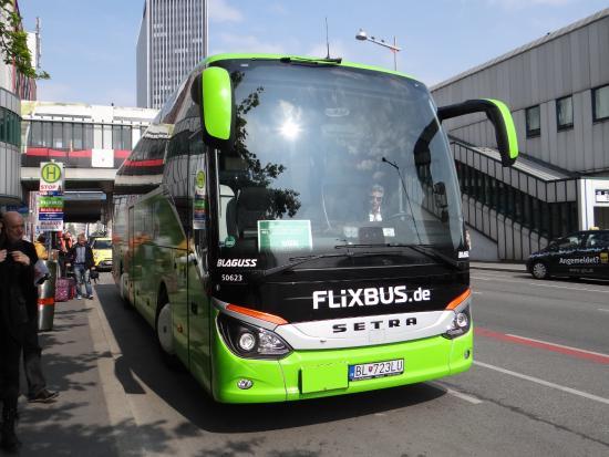Bratislava to Vienna, Flixbus bus