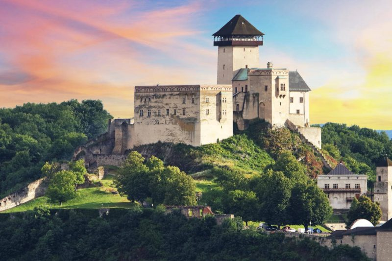 Day trip to Bojnice & Trencin, Trencin Castle