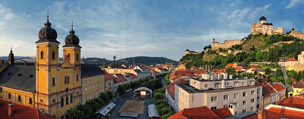 Day trip to Bojnice & Trencin, Trencin city
