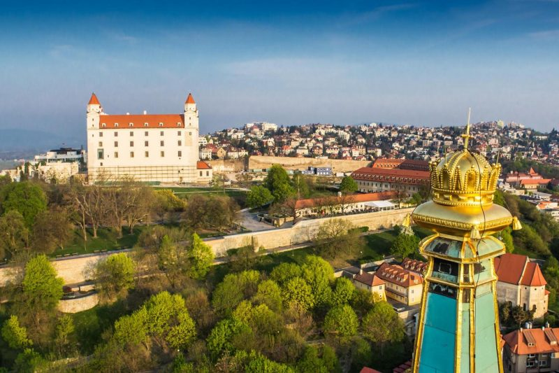 Bratislava Castle & St. Martin` Cathedral during Bratislava Grand City Tour Sightseeing Tour Sightseeing Tour