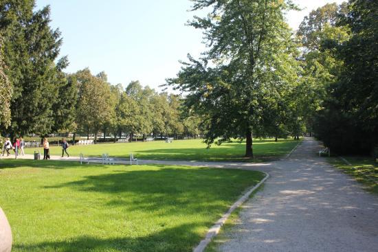 Running in Bratislava, Medical garden
