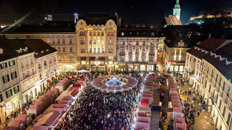 Christmas Bratislava.Bratislava Christmas Market 2018 Bratislava City Tours