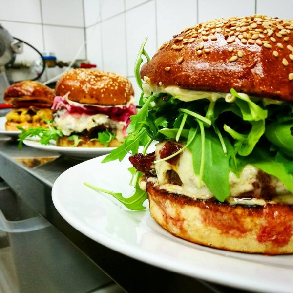 Roxor best burgers in Bratislava